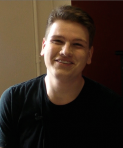 Dylan Ratell is a Senior Musical Theatre major who is headed to Showcase this April