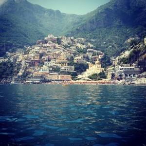 The Amalfi coast in Italy