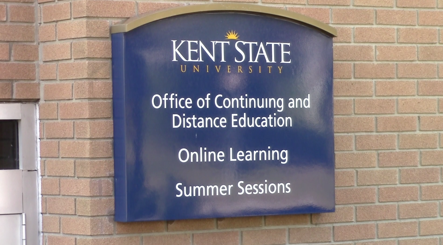 The office of continuing and distance education is located on Lincoln Street right off of Kent State's main campus.