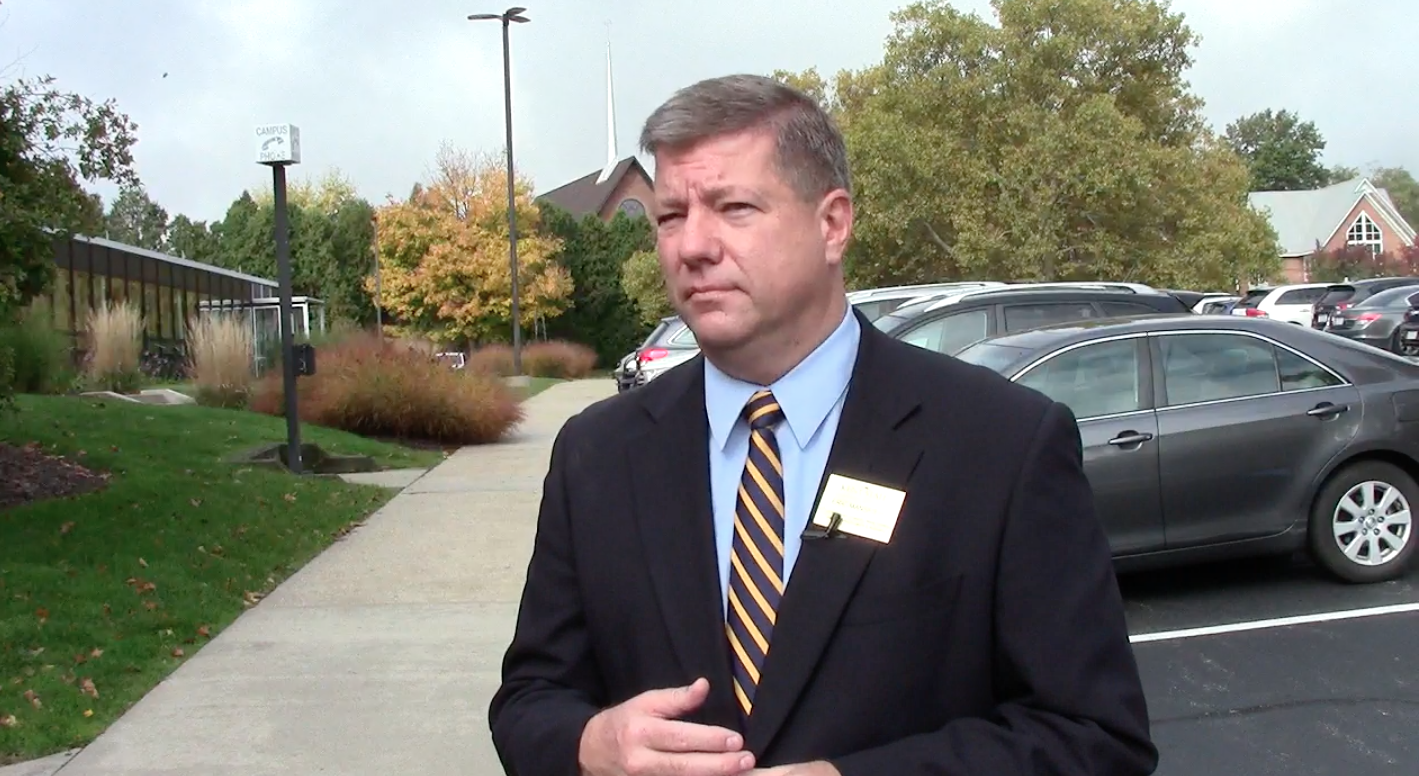 KSU spokesman Eric Mansfield talks to TV2 about the university and Ebola.