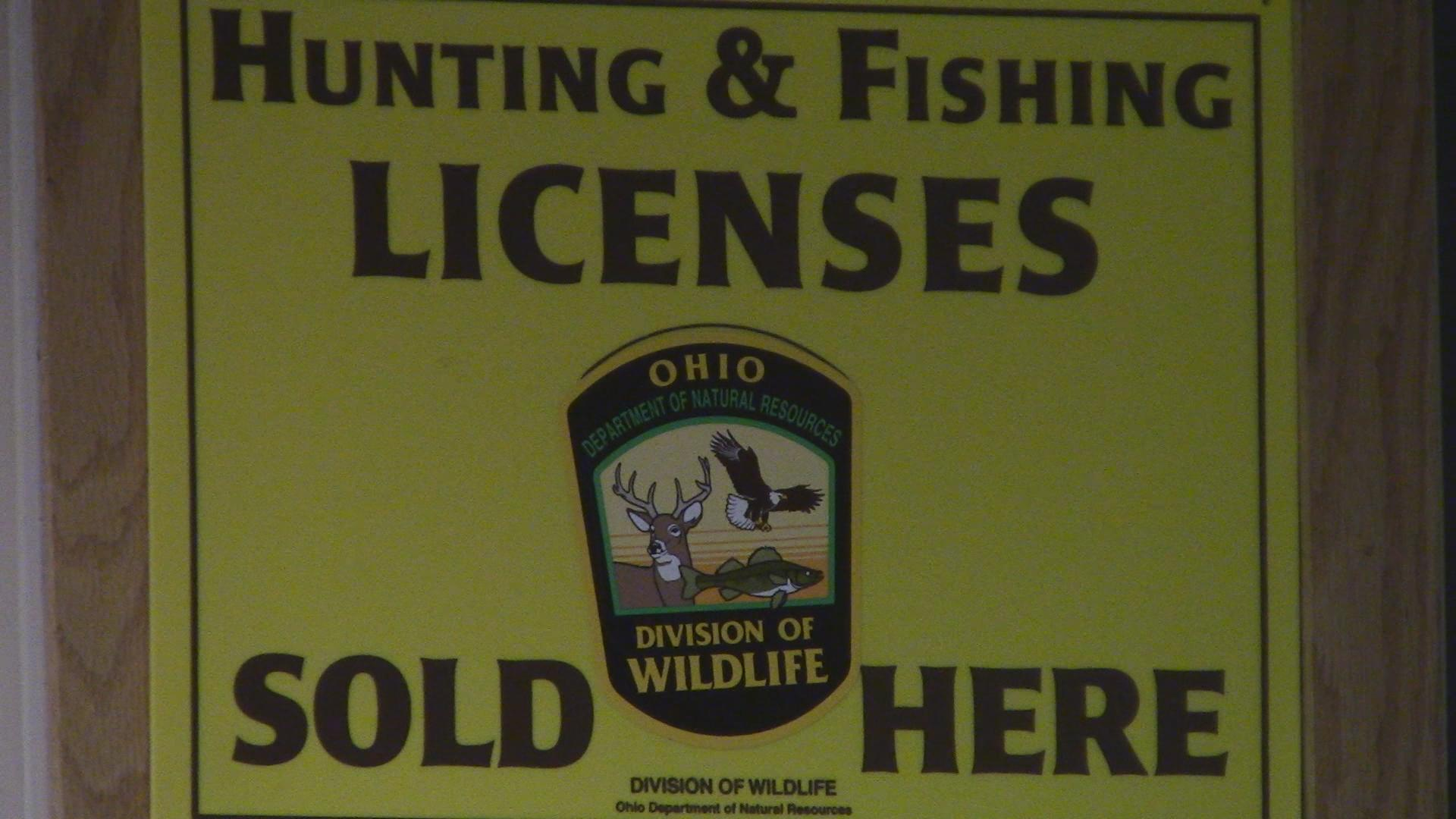 Hunting regulations change broadcast reporting for Odnr fishing license