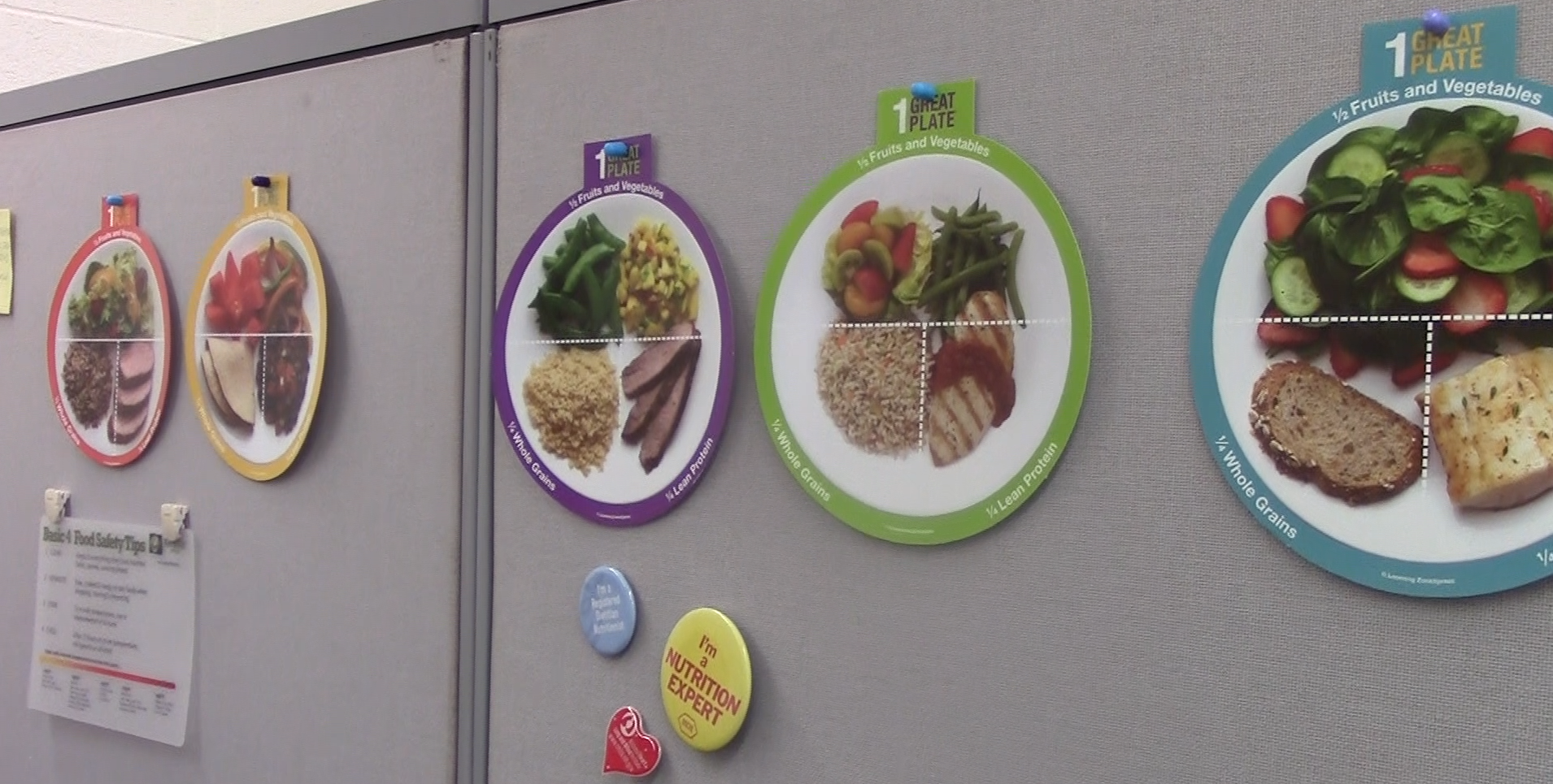 In room 200 in Nixon Hall, students can seek advice and diet tips from nutrition instructors.