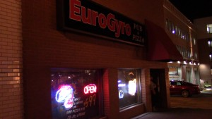 Euro Gyro located in downtown Kent